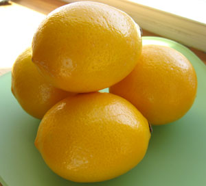 Did you know Meyer lemons are regular lemons crossed with Mandarin oranges? Well, now you do!