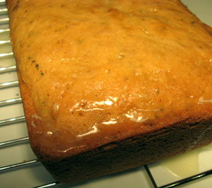 Rosemary Olive Oil Cake with Meyer Lemon Glaze