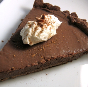 Tuesdays with Dorie - Chocolate Cream Tart