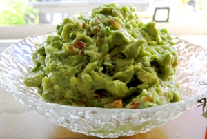 Guac the way I make it (more or less)