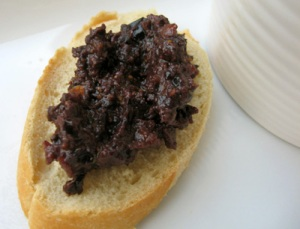Fig and Olive Tapenade - great for parties!